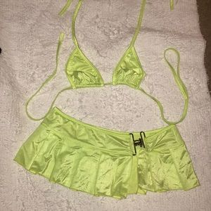 Dresses & Skirts - Sexy lingerie neon yellow